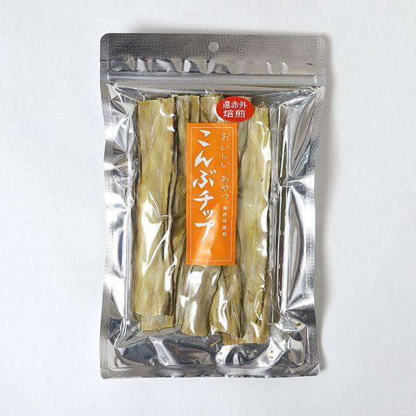 画像1: おいしいおやつ こんぶチップ 20g  (1)